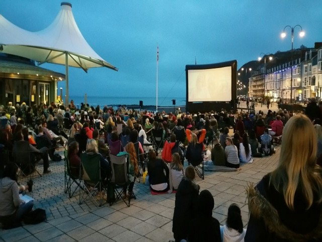 Outdoor cinemas a huge success