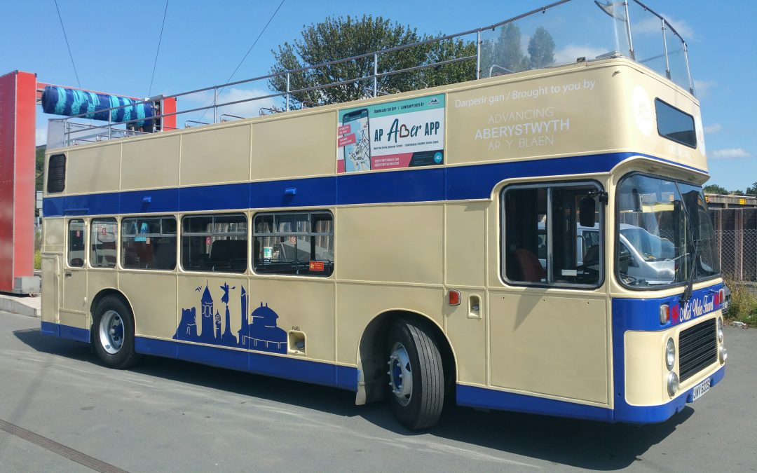 New Open Top Bus Tour comes to Aber!
